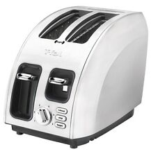 T-fal TT560E50 Avante Icon 2-Slice High Speed Toaster Brushed Stainless Steel