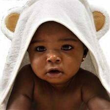 Premium ORGANIC Baby Hooded Bath Towel SOFT Infant Newborn Safe ADORABLE Bear