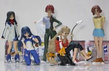 BANDAI japanese anime DEAD AGGROSER & JINKI EXTEND cute girls full set 5 pcs NEW