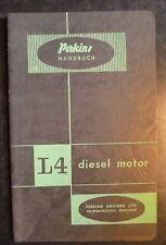 Perkins Motoren L4 Werkstattbuch / Anleitung