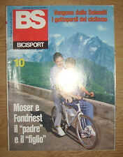 BS / BICISPORT N.10 DEL OTTOBRE 1988 - POSTER MAURIZIO FONDRIEST (OK4)