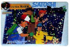 POKEMON BANDAI 1998 POCKET MONSTERS HOLO N° 133 SATOSHI'S PIKACHU