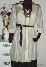 NOA NOA Hemd KLEID - Lime ST. Shirt - Gr. S / 36 -SALT CREME - COTTON Tunika NEU