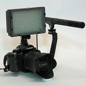 Pro D5 VM SC-2L directional shotgun mic light for Nikon D4 D3 D3x D300 D300s DF