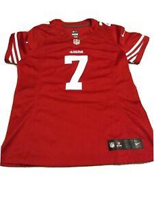 NFL Nike Colin Kaepernick San Francisco 49ers On Field Red Jersey Womens medium