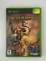Circus Maximus - Original Xbox Game - Tested