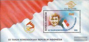 Indonesia Bloque 100 (edición completa) nuevo 1995 50 años independencia