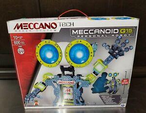 Meccano Tech Meccanoid G15 Personal Robot. 2 Feet Tall. See Description