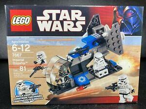 LEGO Star Wars 7668 Rebel Scout Speeder Rare 2008 Set New in Sealed Box