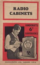 How to Make Antique Radio Cabinets - (1950) - CD