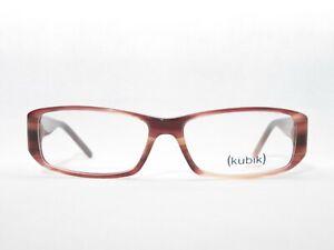 Cubic Glasses 54□15 138 Designer Frames Ladies Red Braun Optical New Trend