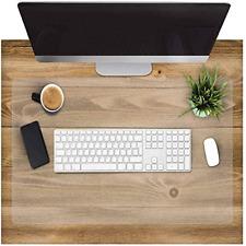More details for clear desk pad, office desk mat, waterproof non-slip desk table protector, desk
