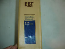 CATerpillar Equipment M318 Excavator Factory Service Shop Workshop Repair Manual