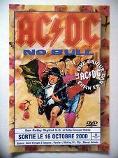 """PUBLICITE-ADVERTISING :  AC/DC  2000 pour la sortie de """"No Bull"""""""