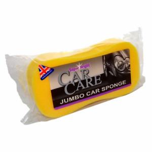 Superbright Jumbo Car Sponge Large, Cleaning, Valeting, Detailing, Washing