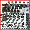 Custom SET Military minifigure Bicks Swat Police Army Team Lego Toys
