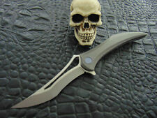 HEA Design Flame only 99 Made !!! Integral Titanium Frame Tactical Folder