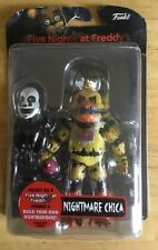 "FIVE NIGHTS AT FREDDY'S NIGHTMARE CHICA 5 "" ACTION FIGURE FNAF NEW RARE UK STOCK"