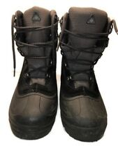 Columbia Mens Size 9.5 Thermolite Water Resistant Winter Snow Boots Black
