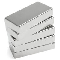 Starke Neodym Magnete Magnet 50x25x10mm N52 Blockmagnet Quader Pinnwand Büro