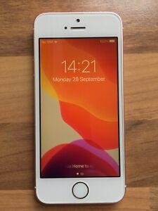 Apple iPhone SE 2017 Rose Gold [Pink] 32GB - bat 89% - EXCELLENT - FREE P&P