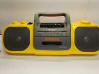 Sony Cfs-905 Sports Mega Bass Radio Cassette Boombox NO Power Cord - Tested