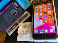 Apple iPhone 7 Plus (128gb) LTE Globally Unlocked (A1784) MiNT ExTRAs {iOS13}86%