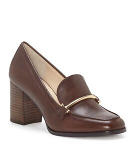 Enzo Angiolini En-Mardie Leather Loafer Pump, T Moro Silky. Size 9. New.