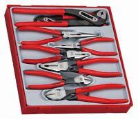 Teng Tools TTD441 8pc Pince Set 1.9cm Nez Long, Combi, Côté Coupe, 1.8cm Pompe