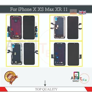 For iPhone X XR XS Max 11 Screen Replacement LCD 3D Touch Digitizer