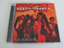 Scum of the Earth CD Blah...Blah...Blah...Love Songs for the New Millenium