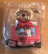 McDonald's 2017 Holiday Express Happy Meal Toy #10 Barbie Train Car NEW Sealed