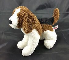 DOUGLAS Cuddle Toys Beagle Puppy Dog Brown White Black Plush Stuffed Animal 7""