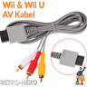 AV Kabel Nintendo Wii & U TV Audio Kabel 1,8m Video Scart Cinch RVL-009 3-RCA
