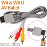 Nintendo Wii TV Kabel AV Fernsehkabel Chinch 3-RCA Anschluss für Scart Wii U