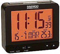 Daewoo reloj despertador Dcd200