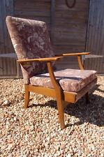Smashing Vintage Retro Parker Knoll Wooden Armed Armchair
