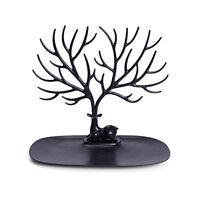 Bijoux cerfs communs arbre Présentoir Collier porte-boucles 3G