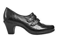 COBB HILL Ladies SALLY Leather Shooties BLACK Sz. 7.5 NARROW  NIB