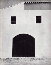 1953/68 Vintage 11x14 BALEARIC ISLANDS Spain Architecture France Art By BRASSAI