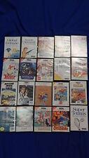 Sega Master System juegos número 20 unidades colección tom Jerry asterix Batman