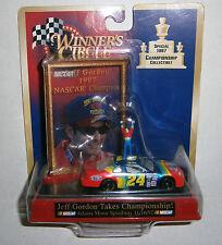 Jeff Gordon #24 NASCAR Winners Circle 1997 Champion 1:64 Scale Car Collectible