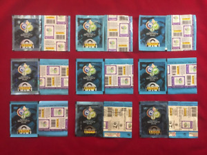 Panini World Cup Germany 2006 WC 06 Collection Packets 9 Different