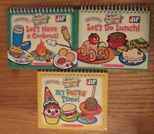Kids Cooking Club: Lets Do Lunch Its Party Time Lets Have a Cookout cookbooks