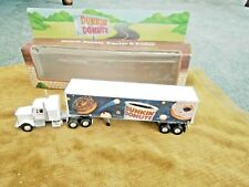 Dunkin' Donuts Tractor Trailer 1995 Limited Ed. Die-Cast Metal Truck NIB