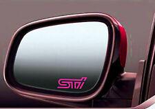 2x Subaru STI side mirror glass stickers decal Impreza Legacy Forester WRX JDM