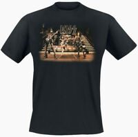 Official Kiss Band Picture T Shirt Live On Stage Classic Rock Love Gun