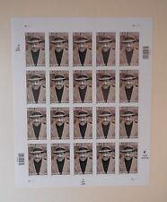 Scott #3557 LANGSTON HUGHES US stamps sheet, 20x34c, MNH, 2001, USPS, HERITAGE