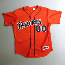 Vintage Majestic San Diego Padres Baseball Jersey Blank Orange L Made in the USA