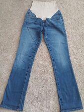 Maternity Jeans Boot Cut Old Navy 4 R 32 inseam 8.5 Leg Opening Medium Wash